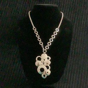 RLM Studio 925 silver circles necklace